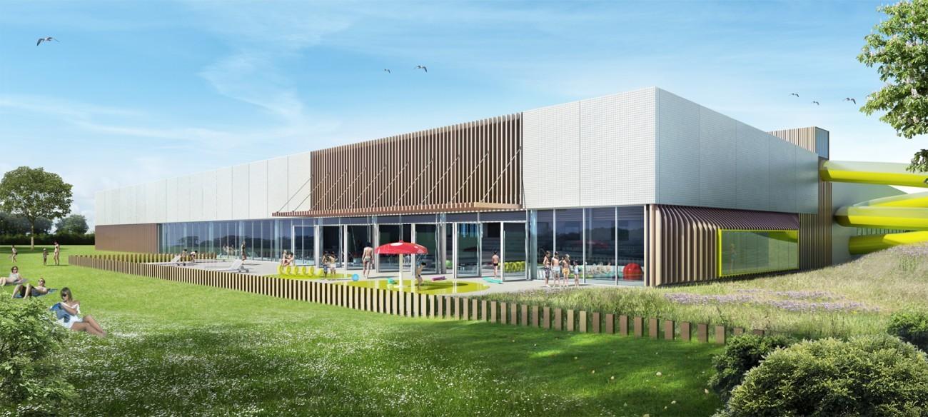 Bourgueil rouleau architectes construction d 39 un for Piscine mayenne