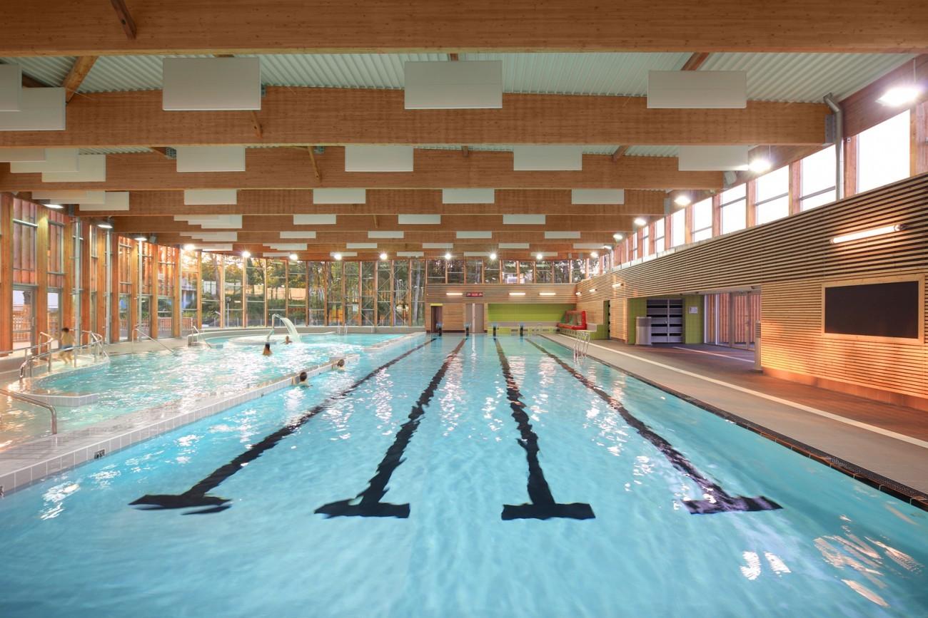 bourgueil rouleau architectes piscine communautaire du mortier tours 37. Black Bedroom Furniture Sets. Home Design Ideas