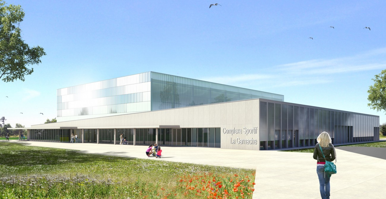 Cout construction complexe sportif